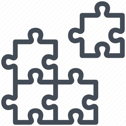 business, management, marketing, piece, puzzle, solution, stategy icon