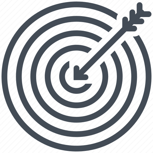 business, destination, finance, goal, marketing, objective, target icon