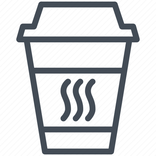 coffee, cup, drink, hot, meeting, restaurant, water icon