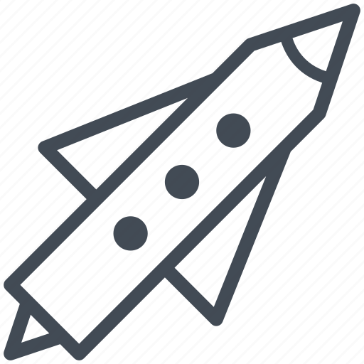 business, launch, office, plan, rocket, solution, target icon