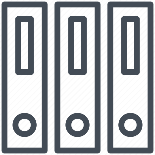 binder, business, document, finance, folder, office, paper icon