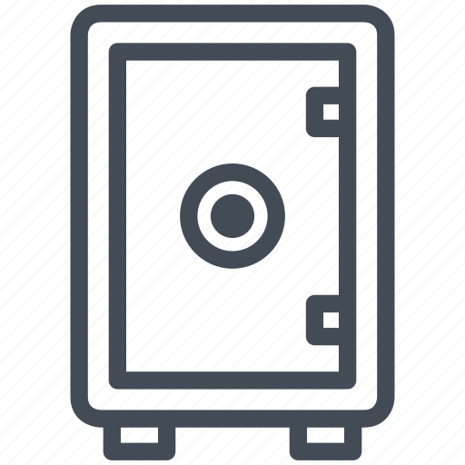 business, cash, finance, money, payment, safe, security icon
