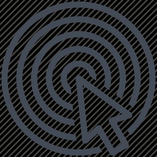 business, cursor, finance, marketing, seo, shield, target icon