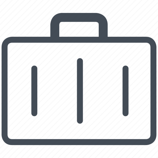 briefcase, business, cash, finance, office, payment, suitcase icon