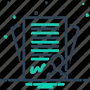 annexure, appendage, bargain, bond, contract, pledge, settlement icon