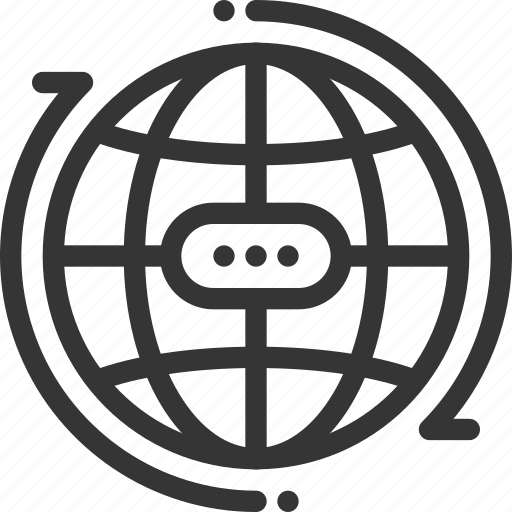 atom, bl, business, earth, global, globe, progress icon
