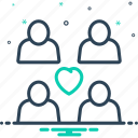 couple, duet, love, pair, person, relationship, spouse icon