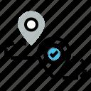 destination, direction, location, map, navigation, path, way