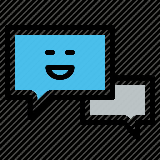 bubble, chat, comment, comments, community, conversation, talk icon