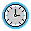 business, clock, optimization, schedule, time, wall, watch icon