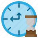 and, clock, date, furniture, shapes, symbols, time icon