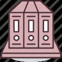 data, database, documents, folder, office, server, storage icon