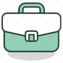 bag, briefcase, business, job, office, portfolio, work icon