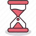 deadline, hourglass, planning, process, schedule, time, wait icon