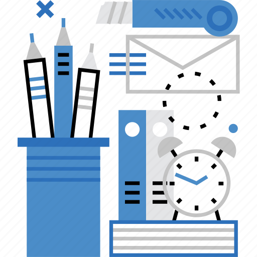desktop, documents, office, stationery, tools, work, workflow icon
