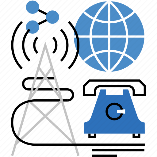 broadcasting, communication, connection, global, international, transmitting, worldwide icon