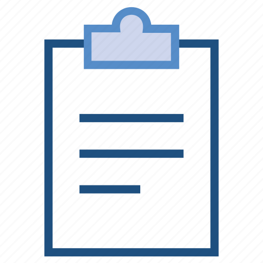 business, clipboard, management, note, task icon