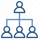 connection, net, networking, sharing, teamwork, users icon