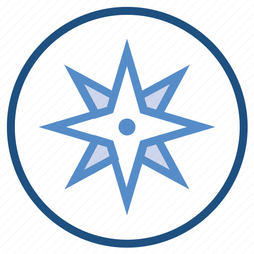 compass, direction, gps, location, nature, navigation icon
