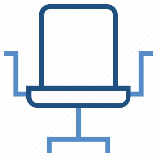 business, chair, furniture, office, office chair, seat icon