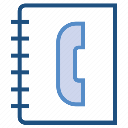 book, contact book, contacts, phone book icon