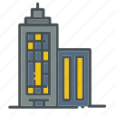 building, buildings, business, office, presentation, skyscraper, tower icon