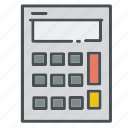 business, calculator, math, number, office, presentation, supplies icon