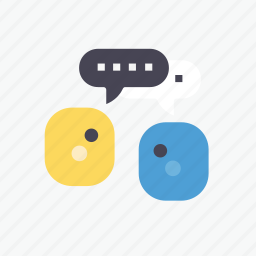 business, chatting, communication, meeting, message, online, talk icon