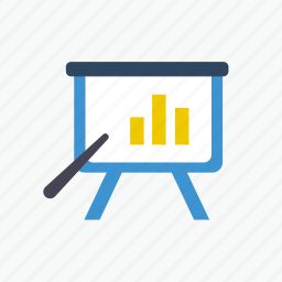 business, chart, diagram, marketing, office, report, seminar icon