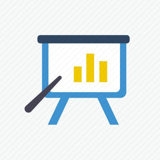 business, chart, diagram, marketing, office, report, seminar icon