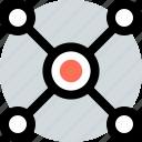 analytics, safe, web icon