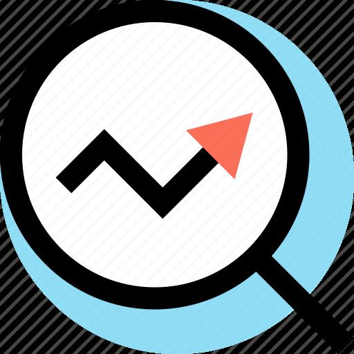 Analytics, arrow, seo, web icon - Download on Iconfinder