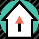 data, high, sales icon