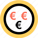 euro, money, pay