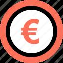 euro, uk icon