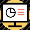data, finance, online icon