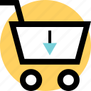 cart, ecommerce, shopping