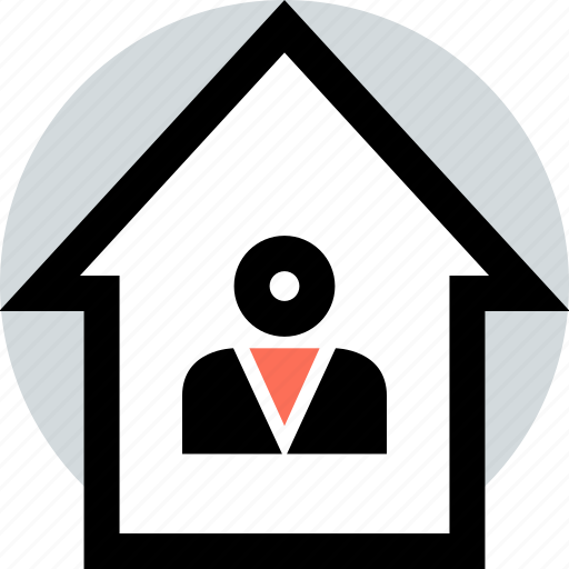Home, house, user icon - Download on Iconfinder