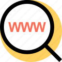 user, web, www icon