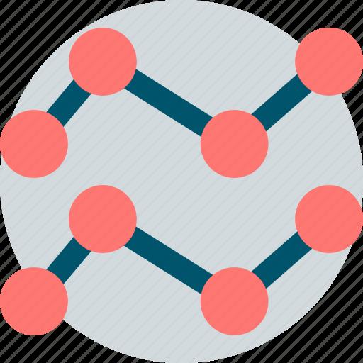 analytics, seo, two, web icon