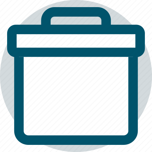 briefcase, case, professional icon
