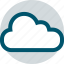clear, cloud, weather icon