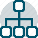 business, connect, data icon