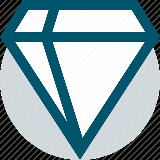 diamond, expensive, money icon