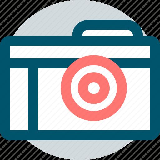 camera, digital, snap icon