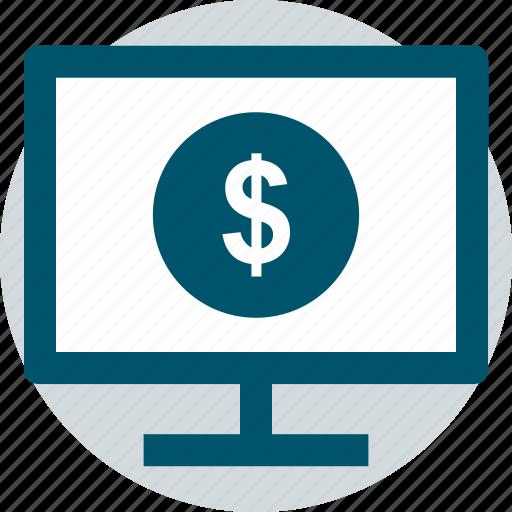dollar, money, pay icon