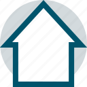 home, house, network, roof icon
