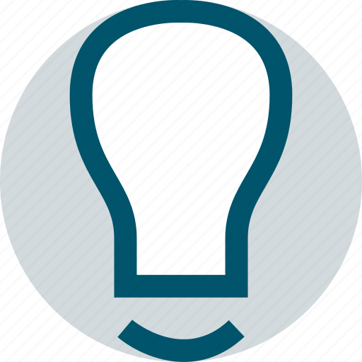 business, idea, light, web icon