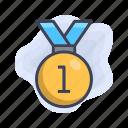 achievment, award, business, champion, reward icon
