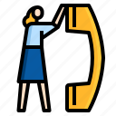 business, call, communication, customer, service, support icon